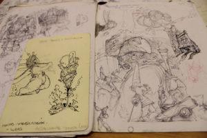 El cuaderno de bocetos te permitirá coger práctica dibujando