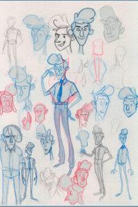 Para crear tu película de animación empieza pensado con papel y lápiz