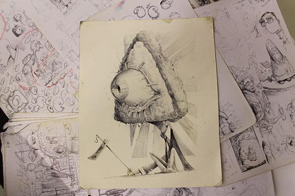 Con el cuaderno de bocetos siempre a mano no se te escapará una idea