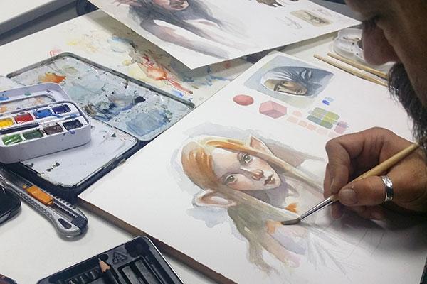 Las salidas laborales para ilustradores son muchas, empieza por una buena formación