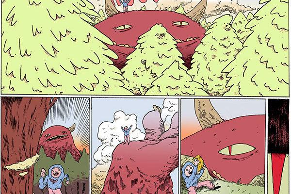 Ejemplo de cómo crear tu primer cómic, en este caso de la alumna Clara Adelaida