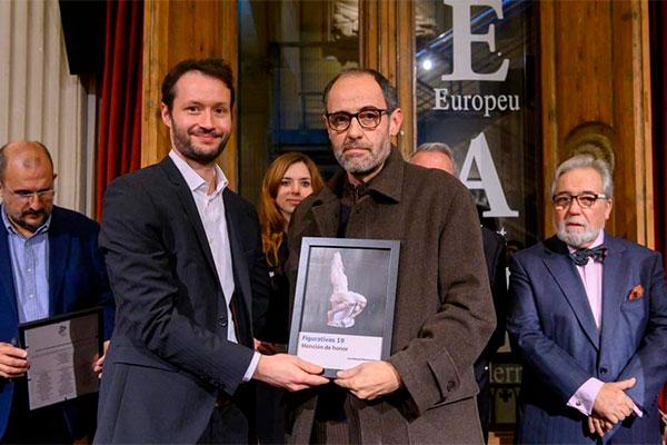 : Premio Figurativas 2019: Mención de Honor de Escultura para José Manuel Martínez Pérez, profesor de ESDIP