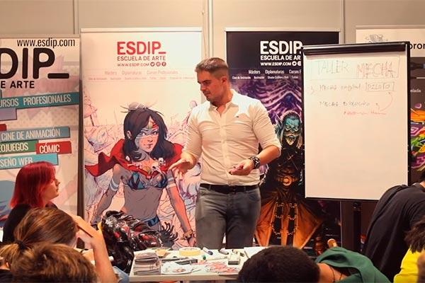 ESDIP presente en la Héroes Comic Con, Feria del Cómic en 2019