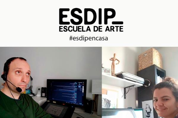 En ESDIP adaptamos nuestra formación presencial a online para preservar la enseñanza de nuestros alumnos