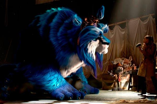 Películas que mezclan imagen real y animación como Blue y Malone
