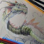Técnica de lápices de colores aplicada a la ilustración