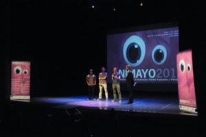 Emilio Luján y Jorge San Martín en Animayo