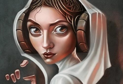 Ilustración de StarWars realizada por concept artist