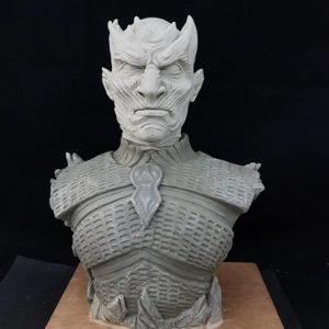 Escultura de juego de tronos para crear videojuegos