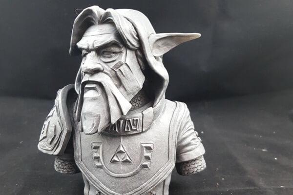escultura para videojuegos
