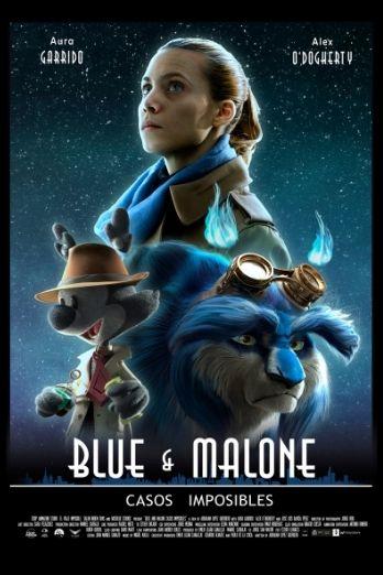 Cartel del corto de animación de ESDIP Blue & Malone