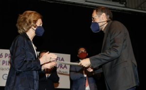 José Manuel Martínez recibe el premio Reina Sofía de Pintura y Escultura 2021